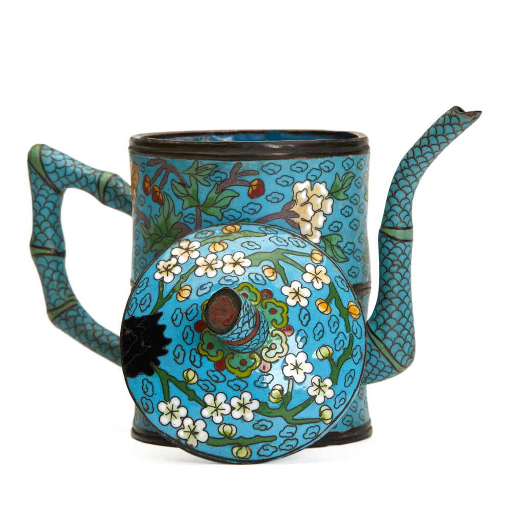 Chinese Cloisonne Teapot 19/20th C. OR1502059   Second ...
