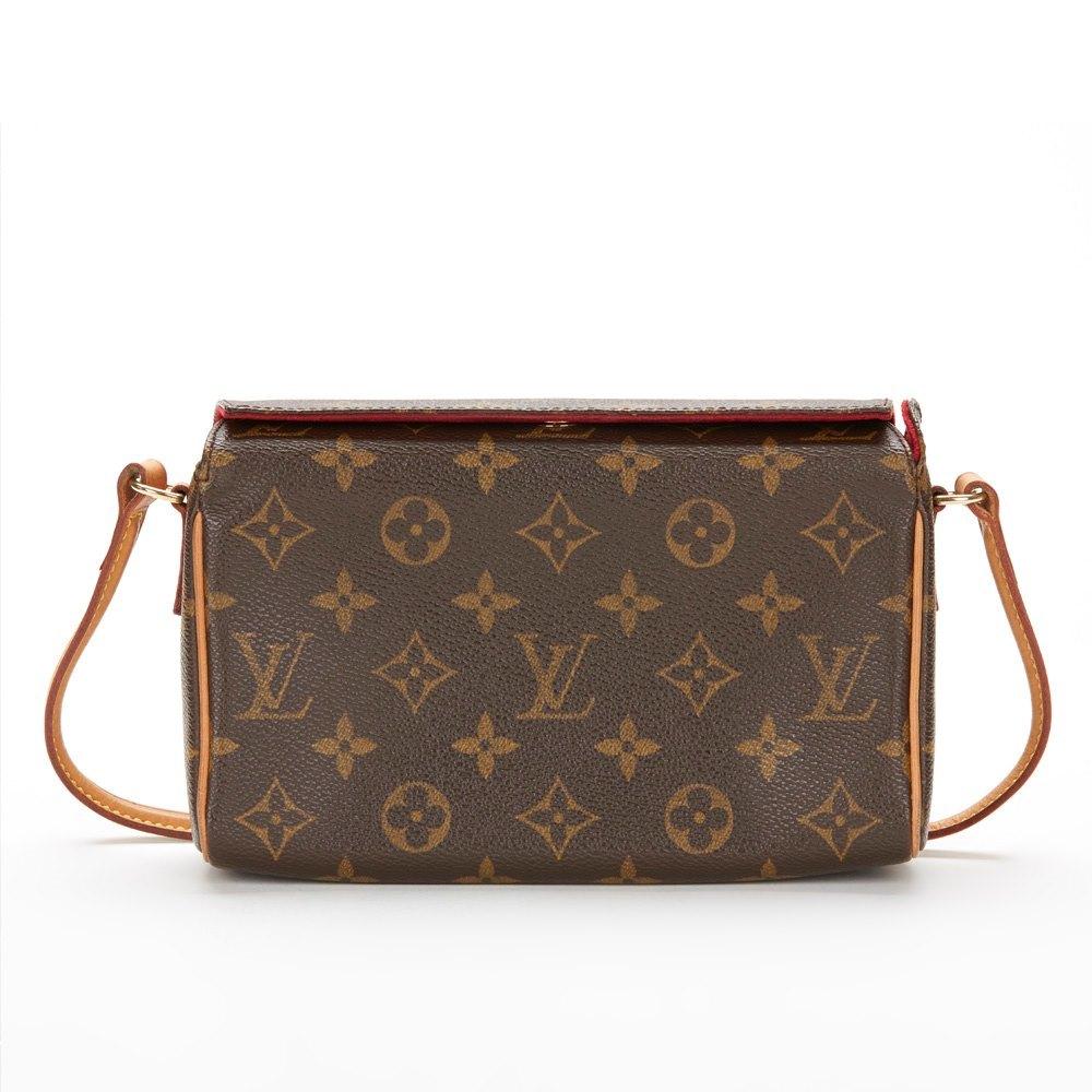 louis vuitton clutch bag. brown monogram canvas small recital shoulder clutch bag 2000\u0027s louis vuitton