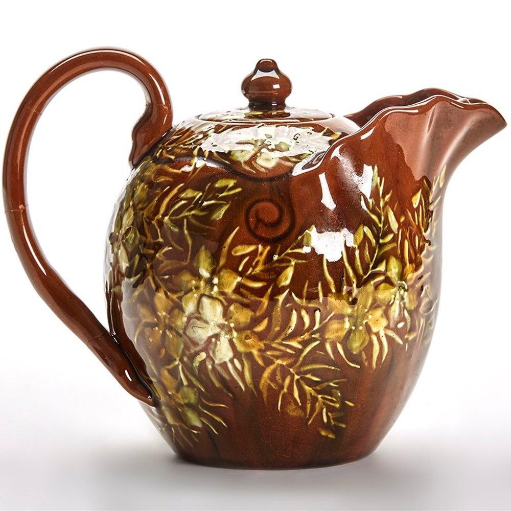 Arts Crafts Linthorpe Teapot Christopher Dresser C 1885