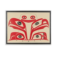 Haida The Gift Ltd Edn 123/125 Silk Screen Print By Robert Davidson 1998