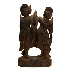 Antique Vintage Indian/Asian Wooden Carving 19/20th C.