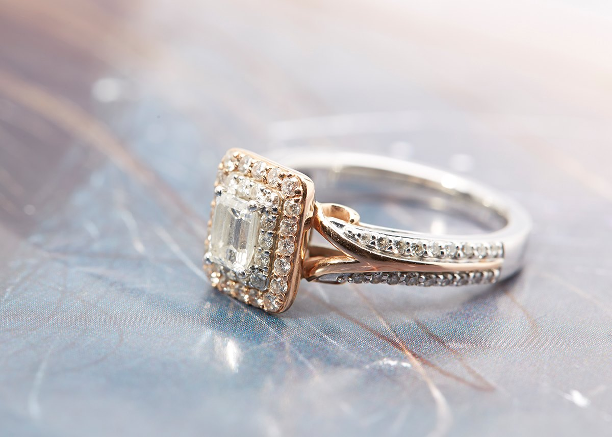 Vera Wang Wedding Rings Rose Gold Hd Pictures