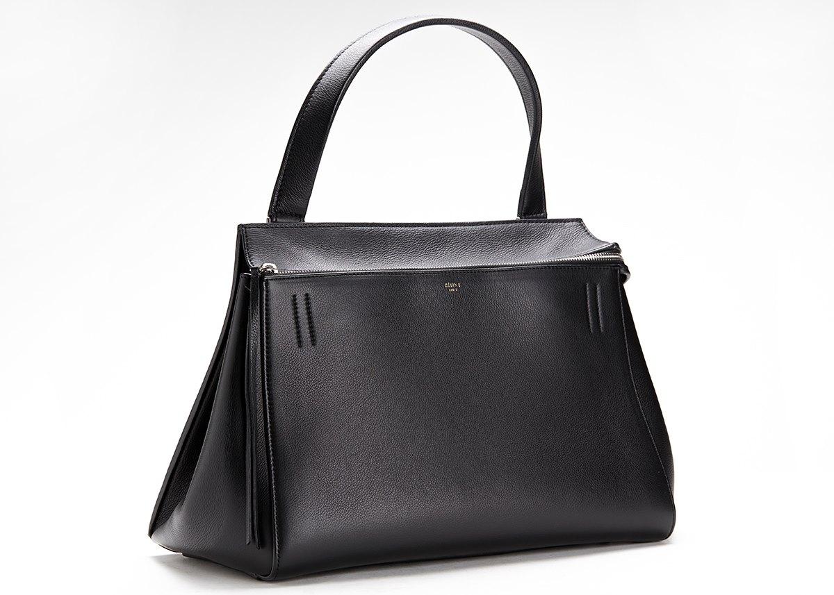 celine clutch online - celine green leather clutch bag trio, celine crocodile luggage tote