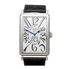 Franck Muller Long Island Big Date 32mm 18K White Gold - 1200 S6 GG
