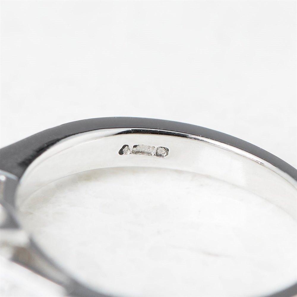 Platinum Emerald Cut 1.02ct Diamond Ring
