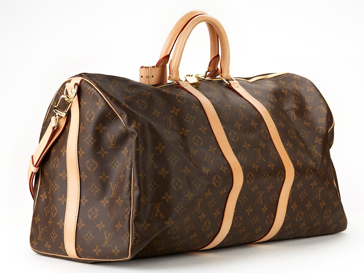 louis vuitton keepall bandouliere 55 2012 cb050 second hand handbags. Black Bedroom Furniture Sets. Home Design Ideas