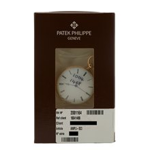 Patek Philippe Pocket Watch Guilloched Case Back 38mm 18K Yellow Gold - 8.373
