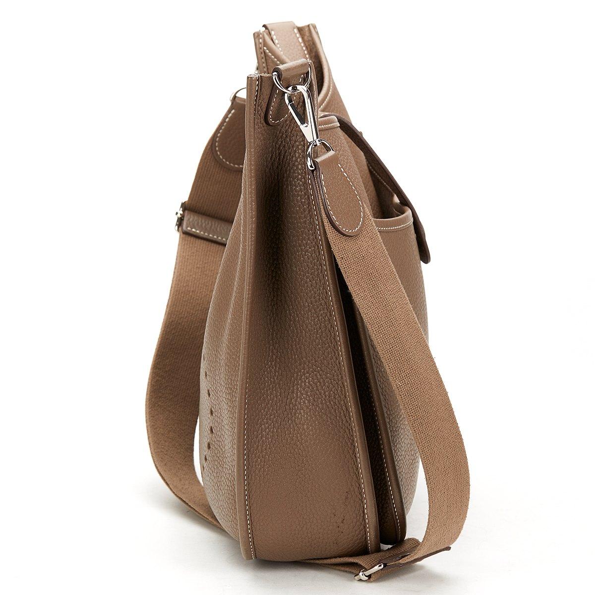 white hermes birkin - Herm��s Hermes Evelyne III GM | Second Hand Handbags | Xupes