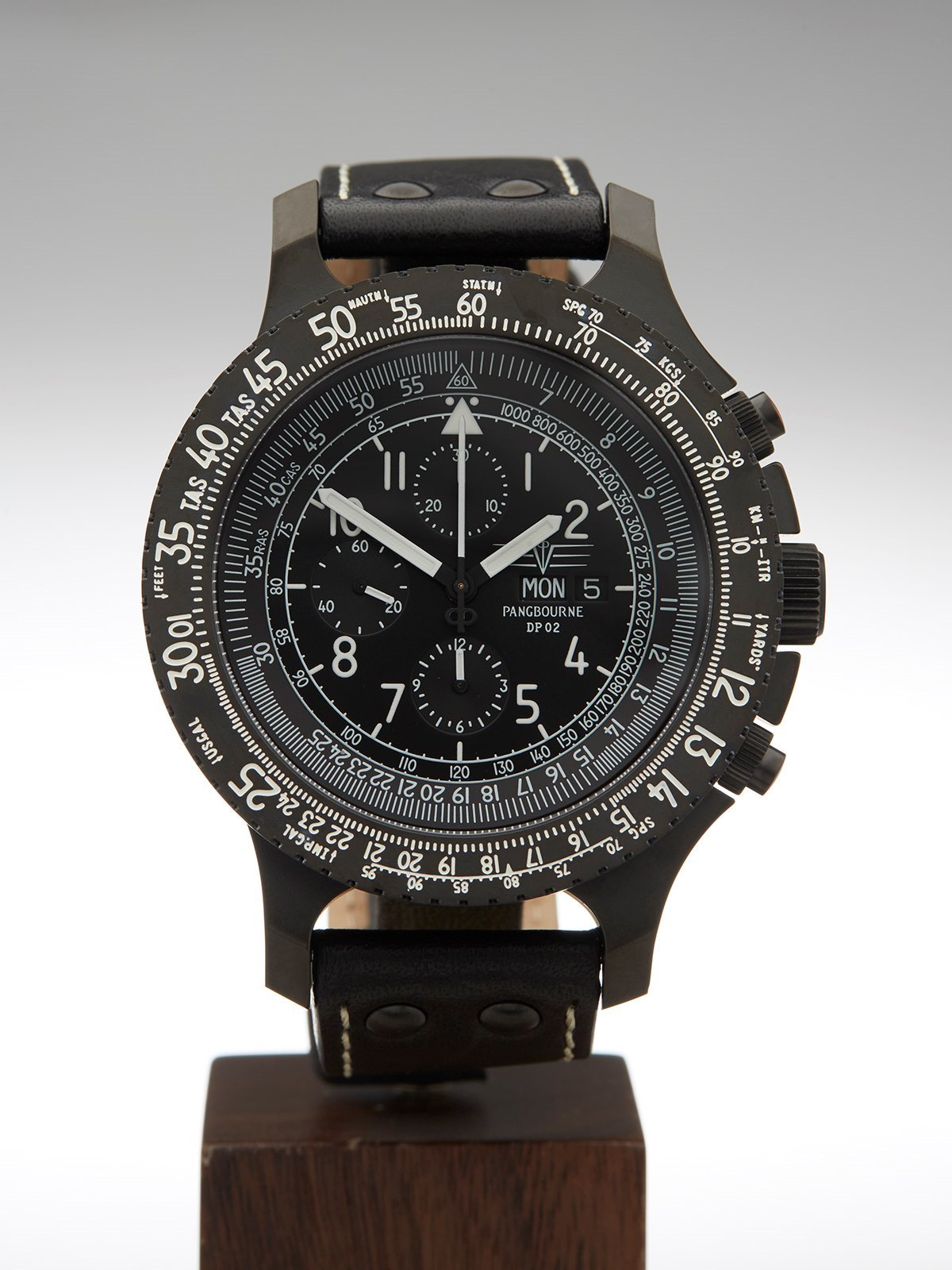 automatique blackout click watches concept pvd master product fr ocean black