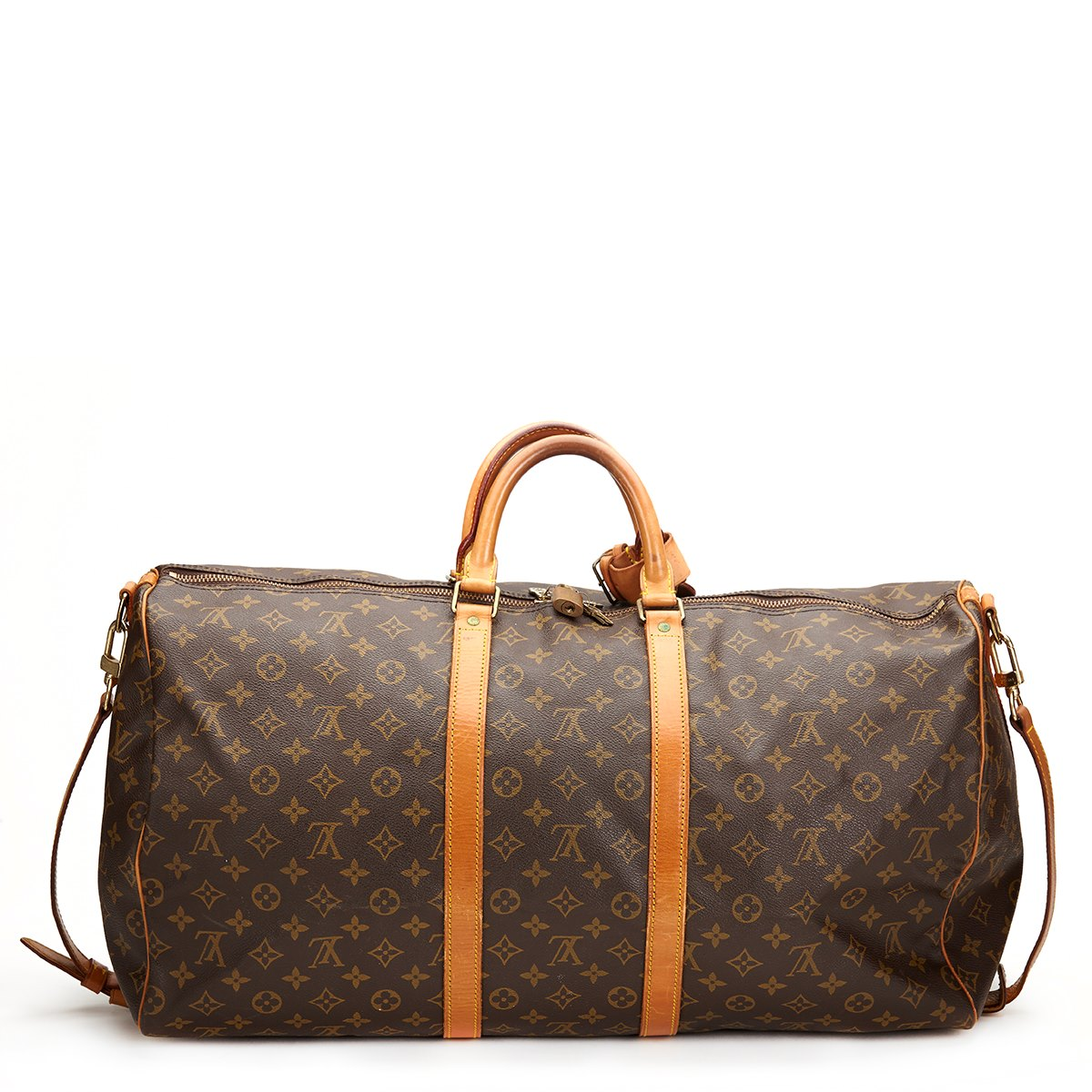 louis vuitton keepall bandouliere 55 1987 hb319 second hand handbags. Black Bedroom Furniture Sets. Home Design Ideas