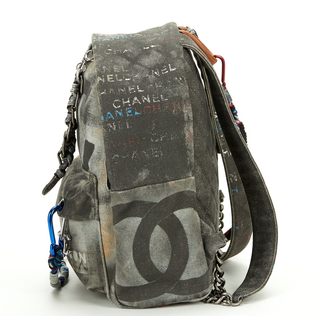 Chanel Medium Graffiti Backpack 2014 HB326