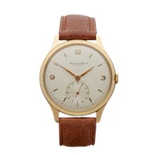 IWC Vintage Cal.88 36mm 18K Yellow Gold