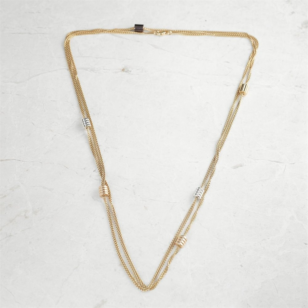 Boucheron 18k Yellow Gold Chain Necklace