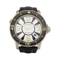 Blancpain Fifty Fathoms 500 Fathoms 45mm Titanium - 50015-12b34-52b