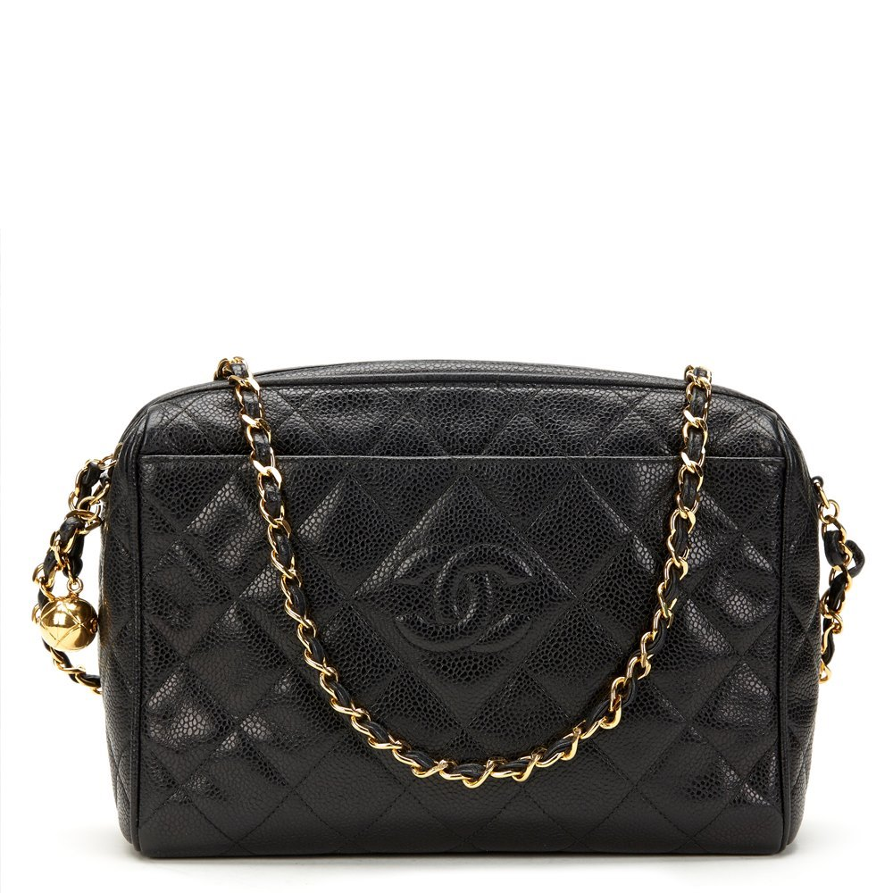 36d7535885a4 Chanel Black Caviar Camera Bag | Stanford Center for Opportunity ...