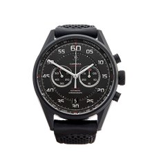 Tag Heuer Grand Carrera Flyback Chronograph 43mm Pvd Coated Titanium - CAR2B80.FC6325