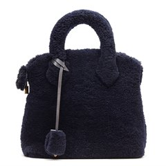 Louis Vuitton Marine Shearling Lockit Pulsion