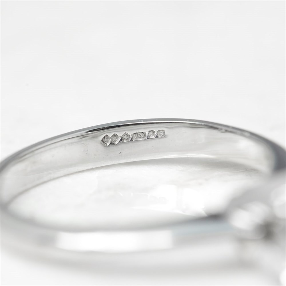 Platinum Round Brilliant Cut 1.00ct Diamond Engagement Ring
