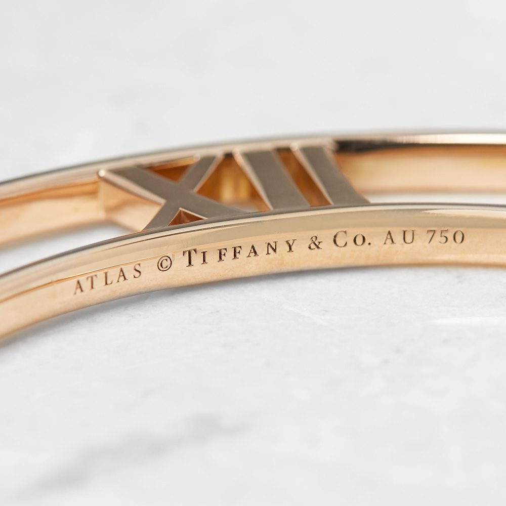 Tiffany & Co. 18k Rose Gold Large Atlas Necklace