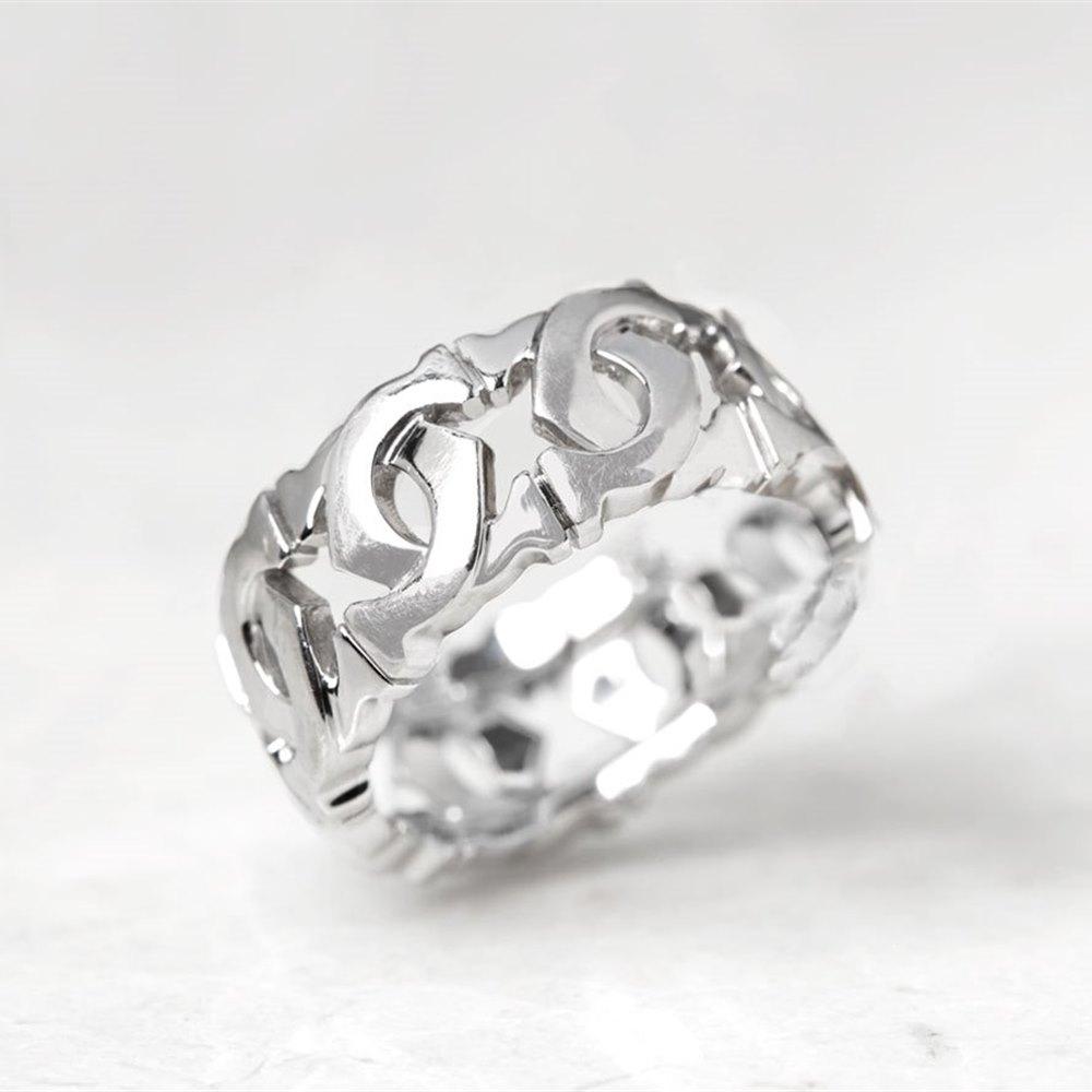 Cartier 18k White Gold C De Cartier Ring