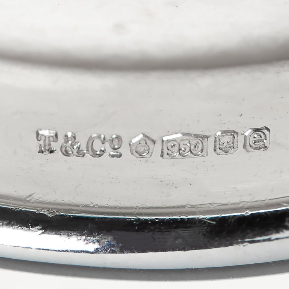 Tiffany & Co. Platinum 0.38ct Diamond Etoile Ring