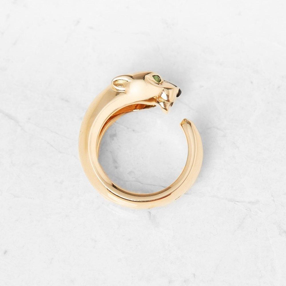 Cartier 18k Yellow Gold Panthére De Cartier Ring