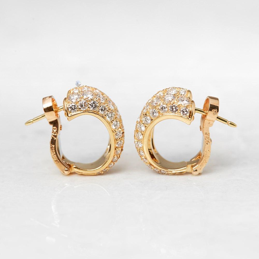 Cartier 18k Yellow Gold Diamond Double Hoop Earrings. Vancaro Wedding Rings. Handmade Diamond. Eagle Bands. Blown Glass Pendant. Gold Stud Earrings. Poem Diamond. Vintage Sterling Bracelet. Pair Engagement Rings
