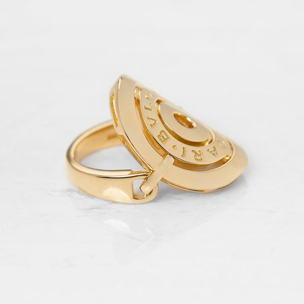 Bulgari 18k Yellow Gold Cerchi Ring