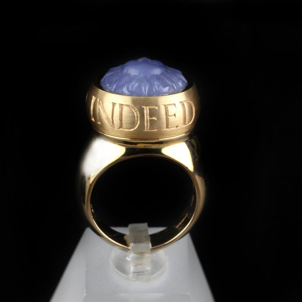 Stephen Webster 18K Yellow Gold Chalcedony Friend Ring