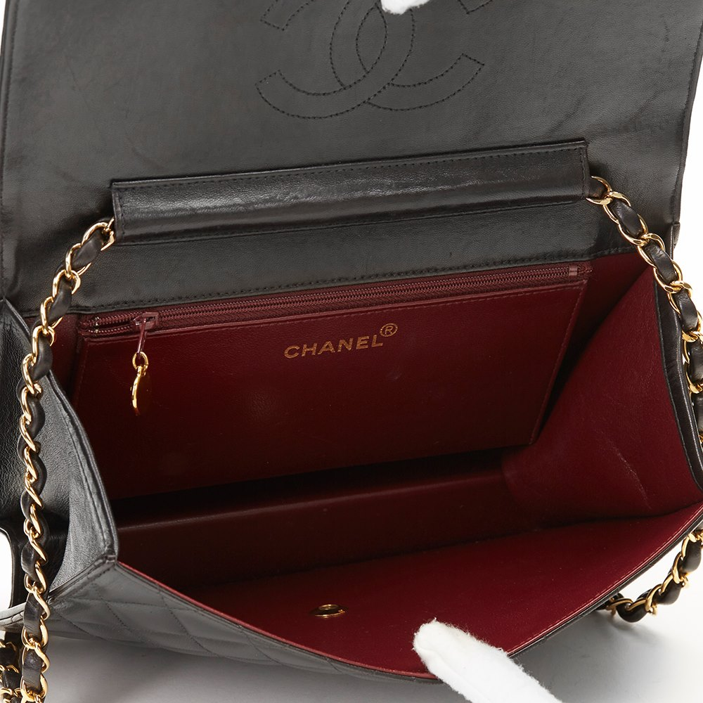 chanel classic single flap bag 1997 hb1150 second hand handbags. Black Bedroom Furniture Sets. Home Design Ideas