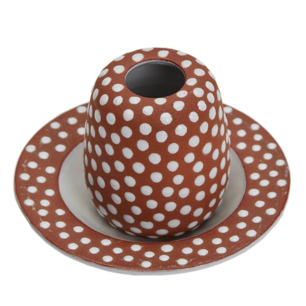 zeuthen keramik VINTAGE DANISH ZEUTHEN KERAMIK MINIATURE VASE & STAND 1950S   eBay zeuthen keramik