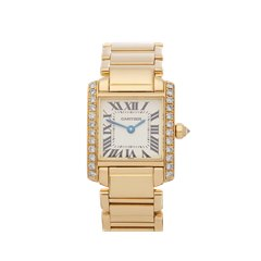 Cartier Tank Francaise 18K Yellow Gold - 2364 or WE1001R8