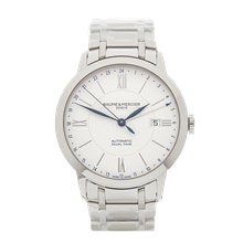 Baume & Mercier Classima Dual Time 40mm Stainless Steel - M0A10273
