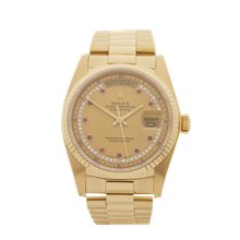 Rolex Day-Date 36mm 18K Yellow Gold - 18038