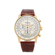 Breitling Montbrillant Chronograph 38mm 18K Yellow Gold - H30030