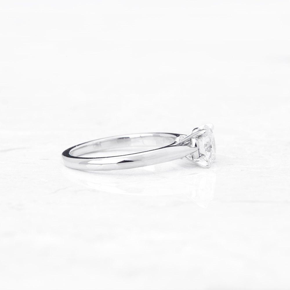 Cartier Platinum 1.02ct Diamond Engagement Ring