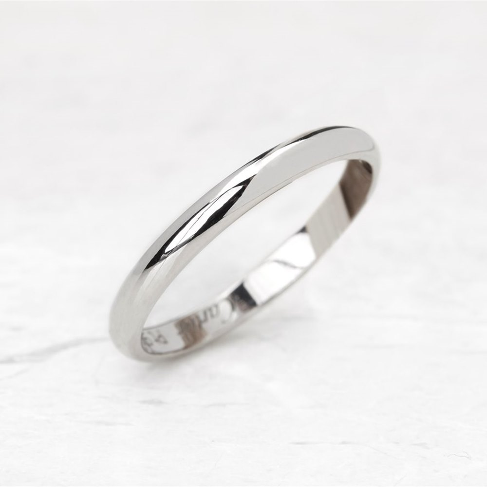 Cartier Platinum Wedding Band