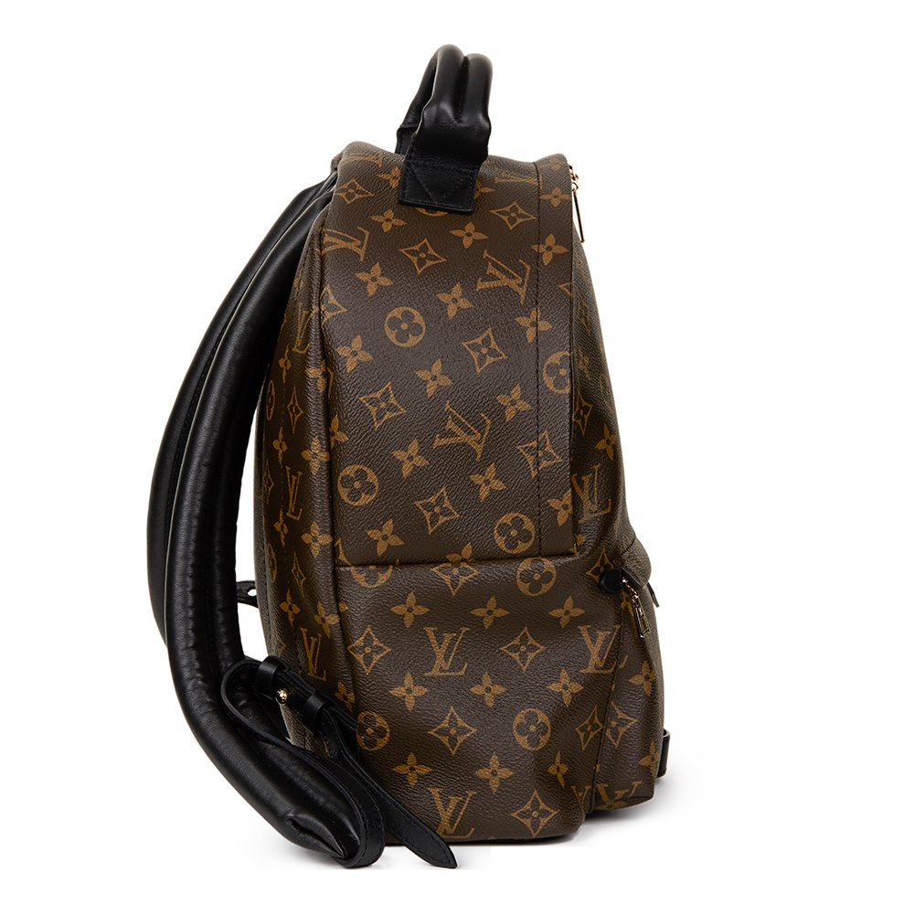 louis vuitton palm springs backpack mm 2016 hb1227 second hand handbags. Black Bedroom Furniture Sets. Home Design Ideas