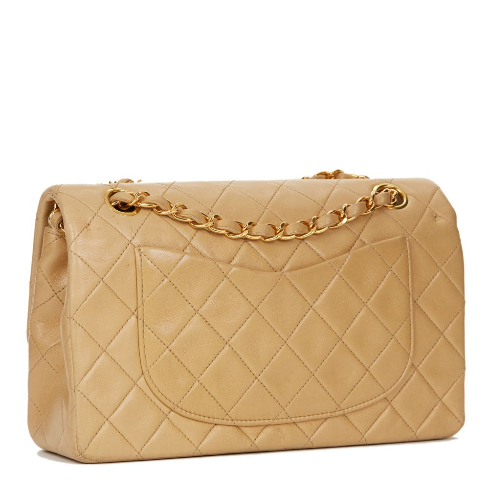 bc4f98ec10f26b Chanel Classic Flap Bag Small Beige | Stanford Center for ...