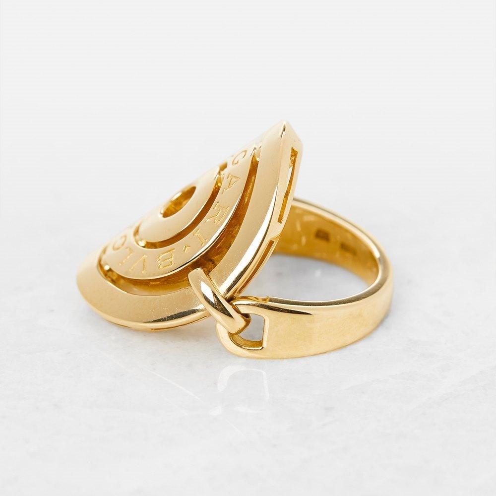 Bulgari 18k Yellow Gold Cerchi Ring Size I