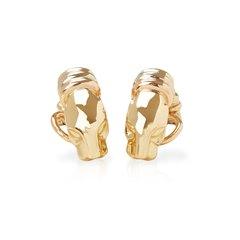 Cartier 18k Yellow Gold Panthère Earrings