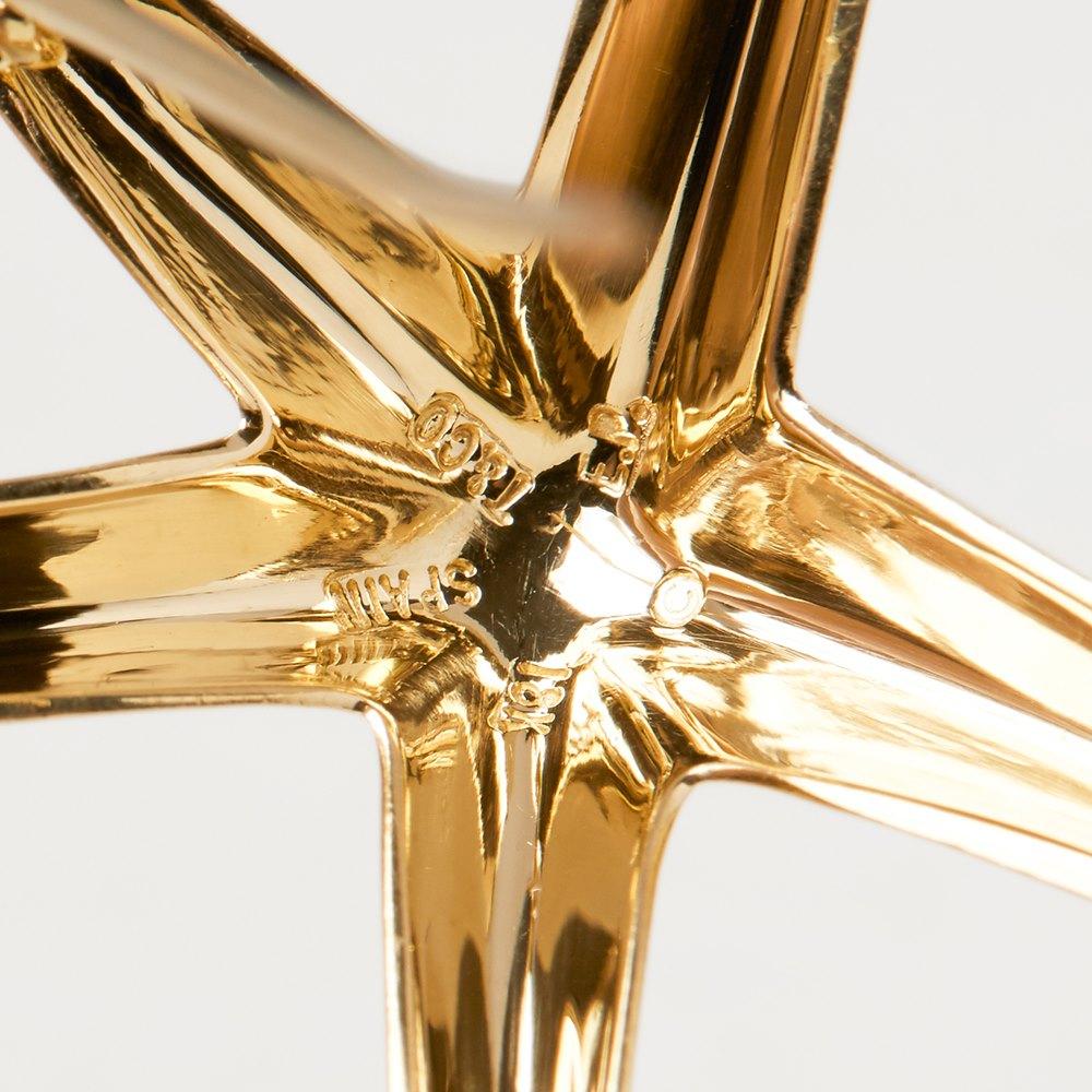 Tiffany & Co. 18k Yellow Gold Starfish Elsa Peretti Brooch