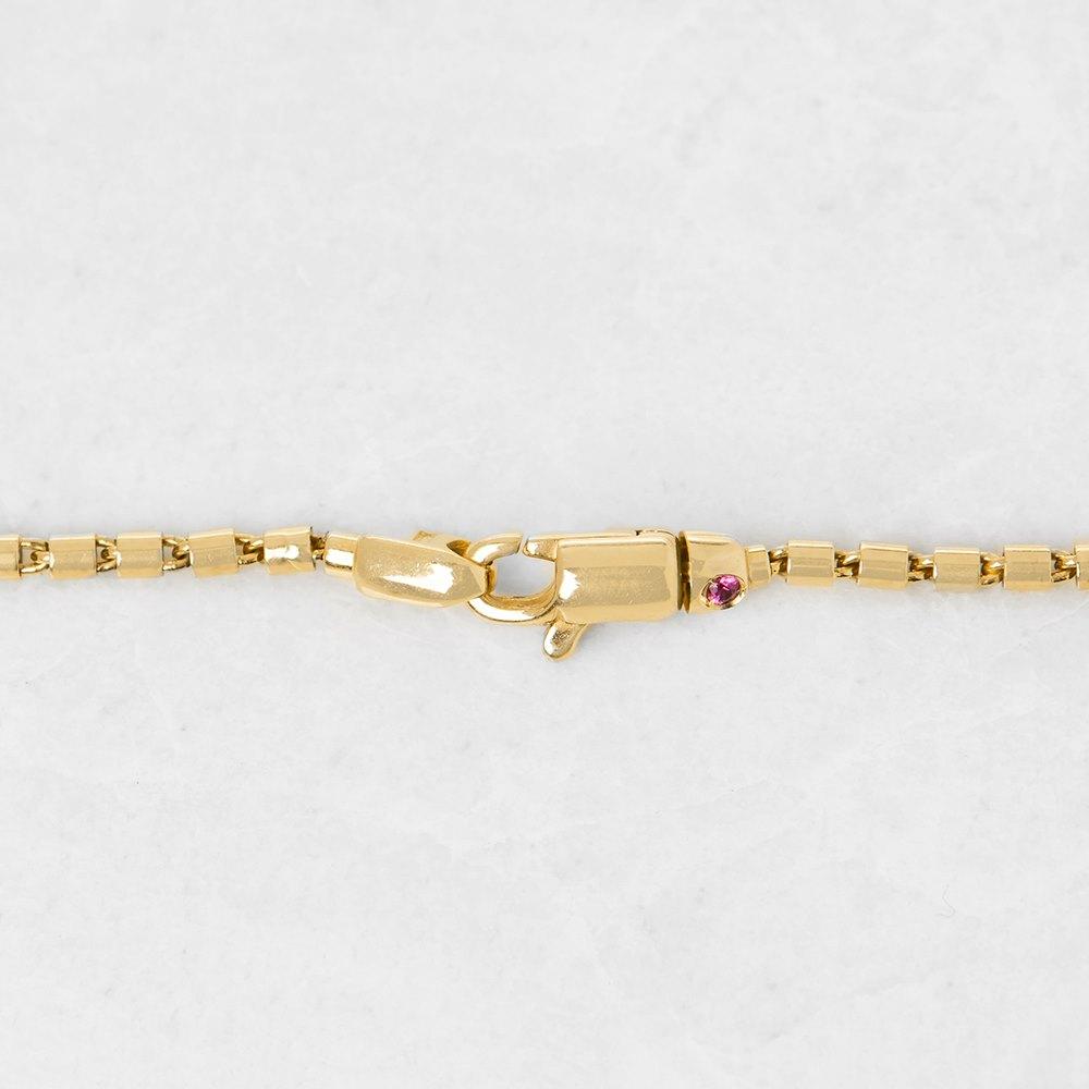 Roberto Coin 18k Yellow Gold Diamond Heart Necklace
