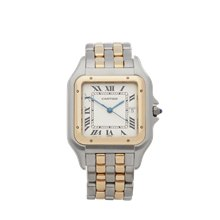 Cartier Panthere Jumbo Stainless Steel & 18K Yellow Gold - 183957