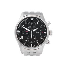 IWC Pilot's Chronograph 43mm Stainless Steel - IW377704