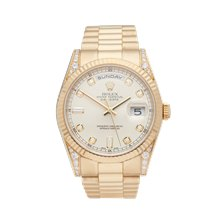Rolex Day-Date 36mm 18K Yellow Gold - 118338