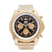 Breitling Bentley Chronograph 48mm 18K Yellow Gold - H44363