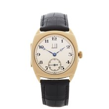 Dunhill Vintage 18K Yellow Gold