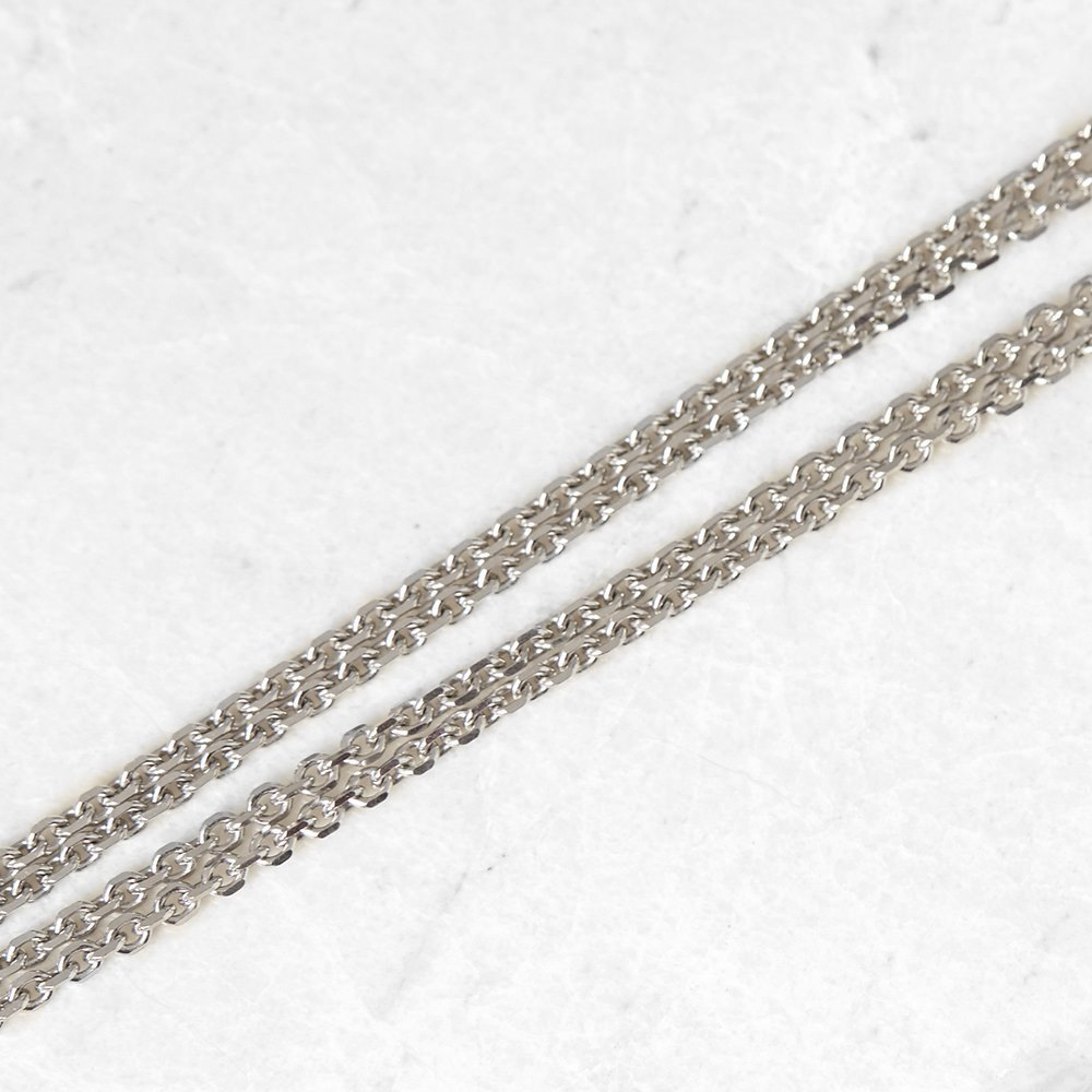 Cartier 18k White Gold Diamond Panthère De Cartier Necklace