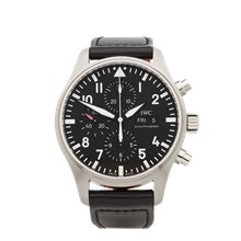 IWC Pilot's Chronograph 43mm Stainless Steel - IW377709